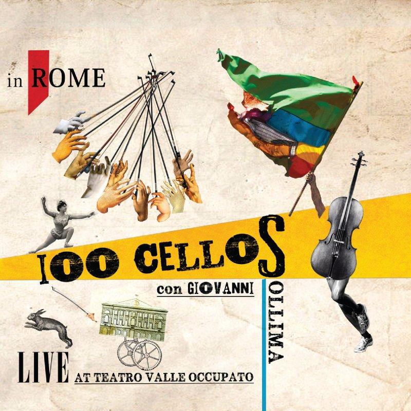 100 CELLOSローマのTeatro Valle Occupatoでライブ